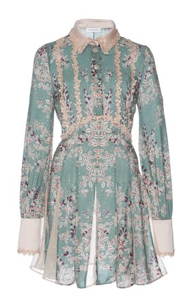 Zuhair Murad Printed Shirt Dress