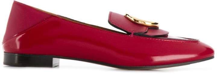 C embellished loafers