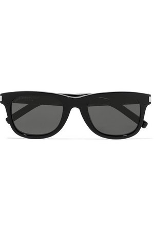 SAINT LAURENT | Square-frame acetate sunglasses | NET-A-PORTER.COM