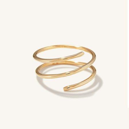 Spiral Ring   Mejuri