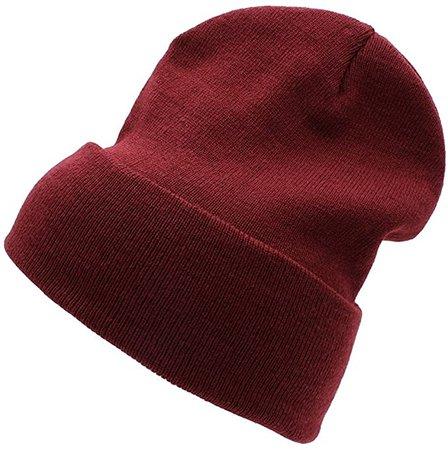 *clipped by @luci-her* PZLE Warm Winter Hat Knit Beanie Skull Cap Cuff Beanie Hat Winter Hats for Men Aqua: Beauty