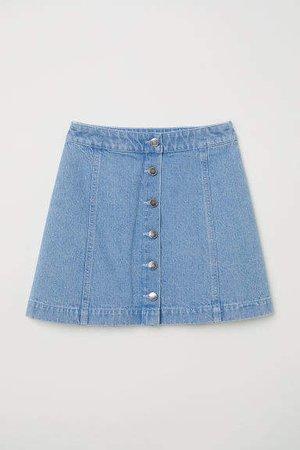 Short Skirt - Blue