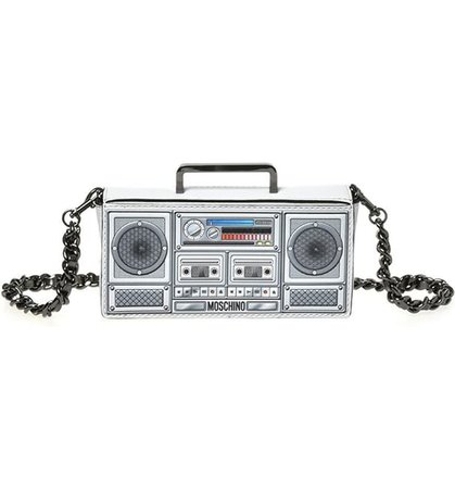 Moschino Small Boombox Clutch   Nordstrom