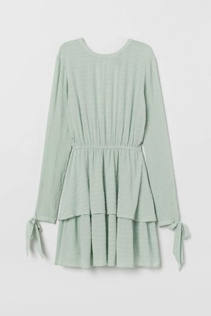 Tiered Dress - Green