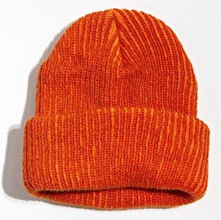 Orange Beenie