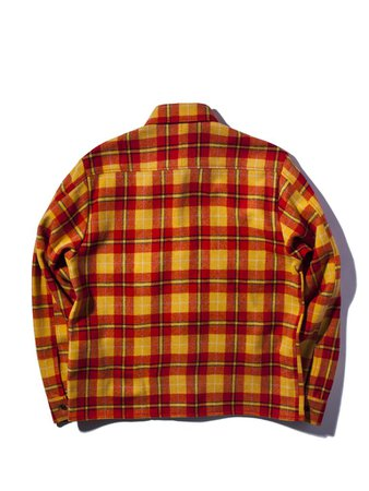 red and yellow flannel