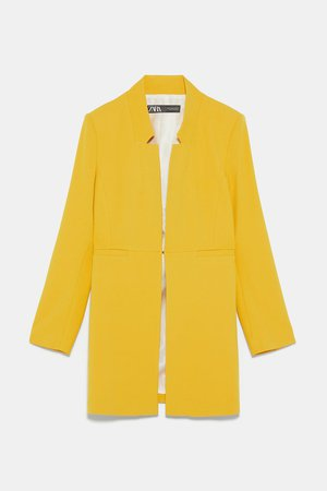 INVERTED LAPEL FROCK COAT - Coats-COATS-WOMAN | ZARA Canada
