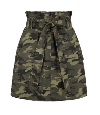 army fatigue military camouflage skirt