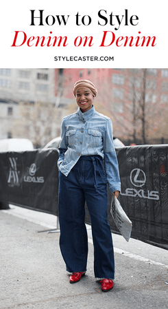 denim on denim - Google Search
