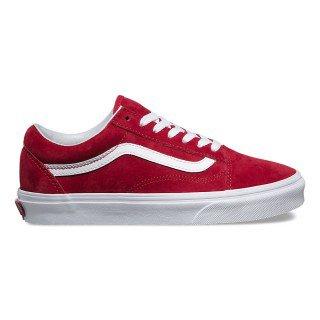 Red Vans shoe