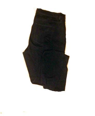 black pants high waist
