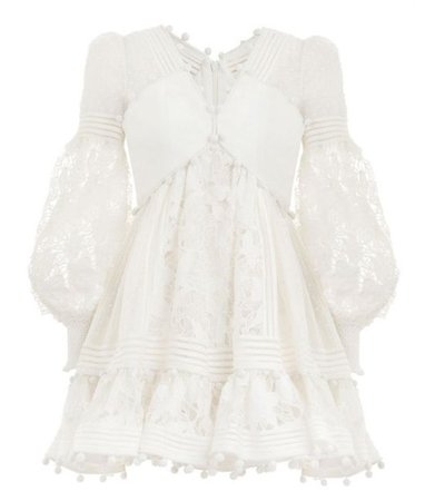 white zimmermann Dress