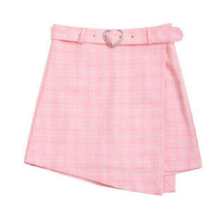 Cute Pink Skirt with Heart Belt 💭🌸