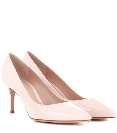 Gianvito 70 patent leather pumps