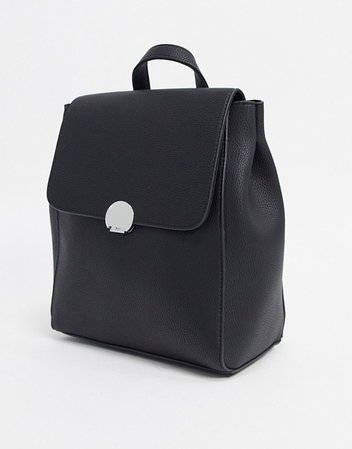 Stradivarius backpack in black | ASOS
