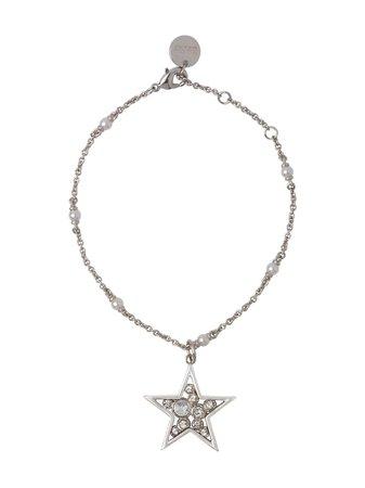 Silver & metallic Miu Miu Micro Jewel star bracelet - Farfetch
