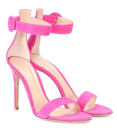 Portofino 105 Suede Sandals - Gianvito Rossi | mytheresa