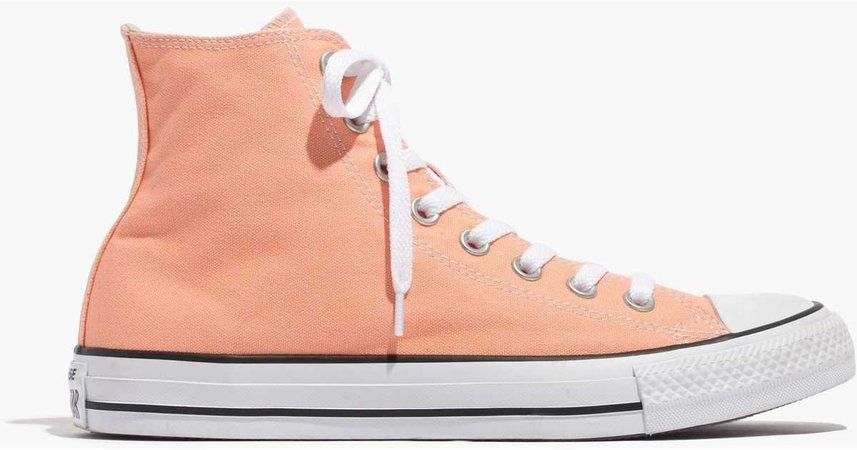 peach converse