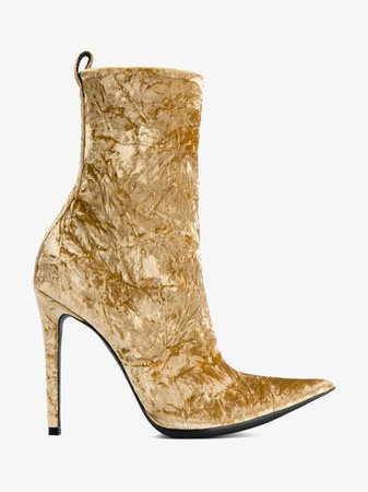Browns | Crushed Velvet Ankle Boots $830.00