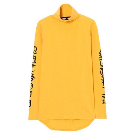 NUTSOID STUPID HIGHNECK LONG TEE