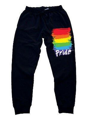 New Men's Gay Pride Jogger Training sweatpants Gym pants LGBT lesbian rave party | eBay