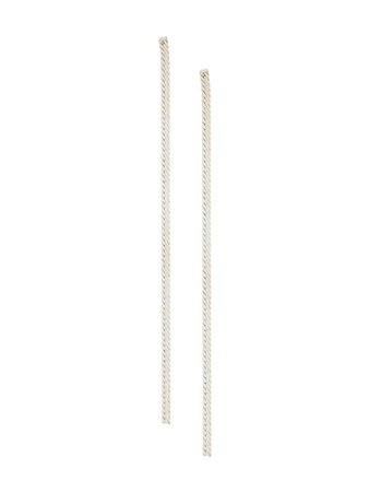 Shop metallic E.M. drop earrings with Express Delivery - Farfetch