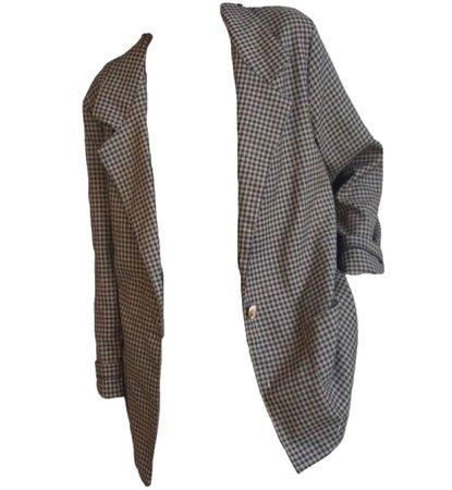 academia/blazer/plaid blazer