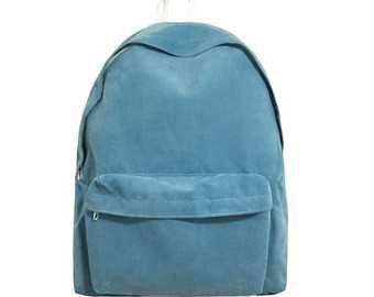 Basic Style Corduroy Backpack