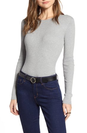 Halogen® Ribbed Sweater | Nordstrom