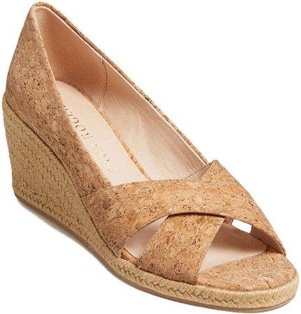 Palmer Woven Wedge Sandal