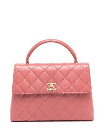 Chanel Pre-Owned 1998 Small Coco top-handle Bag - Farfetch