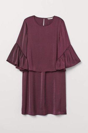 MAMA Nursing Dress - Red