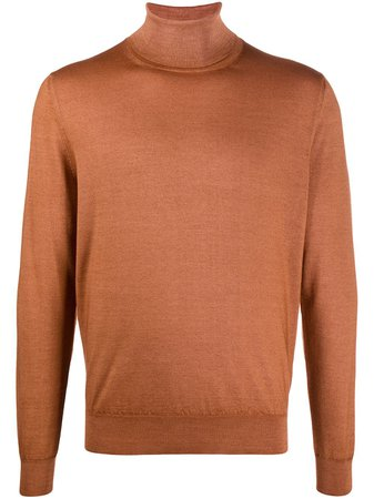 Canali turtleneck wool jumper - FARFETCH