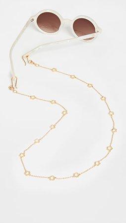 Lele Sadoughi Daisy Sunglasses Chain | SHOPBOP