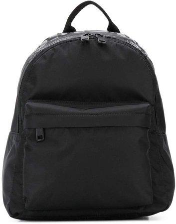 monochrome logo backpack
