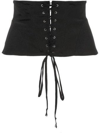 Fleur Du Mal lacing corset belt $195 - Shop SS17 Online - Fast Delivery, Price
