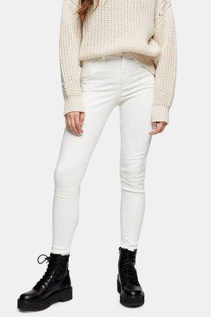 Ecru Jamie Skinny Jeans | Topshop