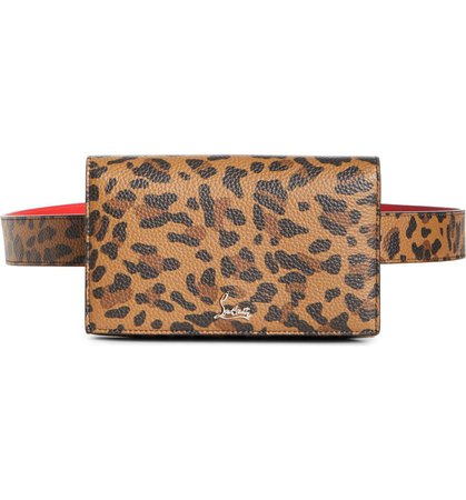 Christian Louboutin Boudoir Leather Belt Bag | Nordstrom