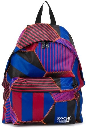 Colour Blocked Backpack