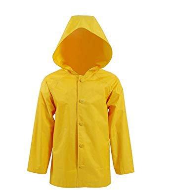 Yellow Raincoat With Hood, 'Georgie' Style