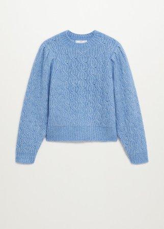 Knitted braided sweater - Women | Mango USA