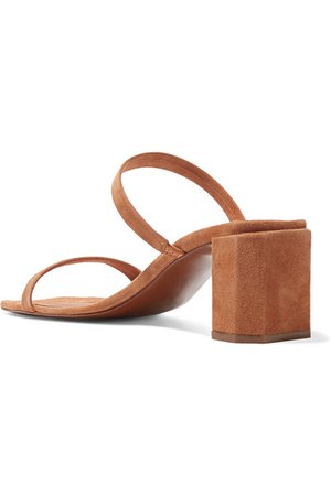 BY FAR | Tanya suede mules | NET-A-PORTER.COM