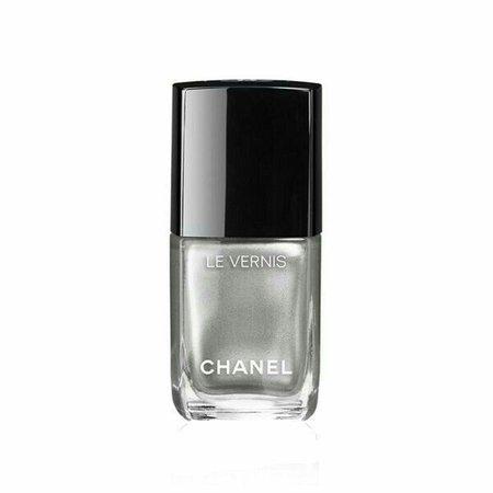 Chanel Le Vernis Silver Nail Polish