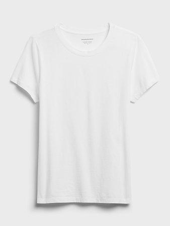 SUPIMA® Cotton Crew-Neck T-Shirt | Banana Republic