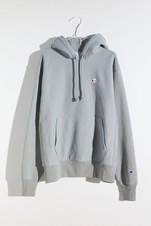 Champion UO Exclusive Boyfriend C Patch Hoodie Sweatshirt | Urban Outfitters