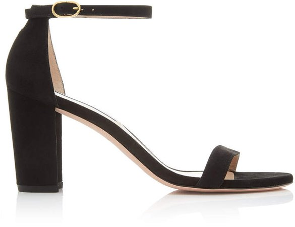 Nearly Nude Suede Sandals