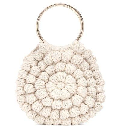 Lia crochet cotton tote