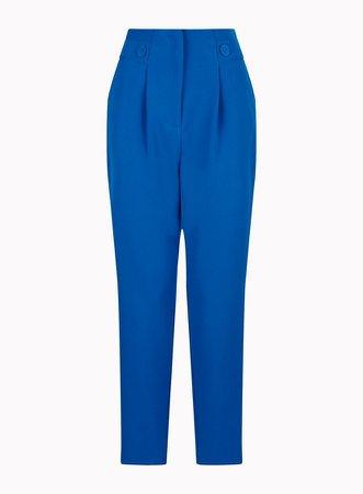 Cobalt High Waist Trousers