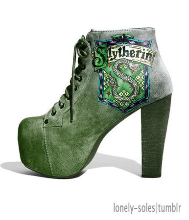 Harry Potter Heels/Slytherin