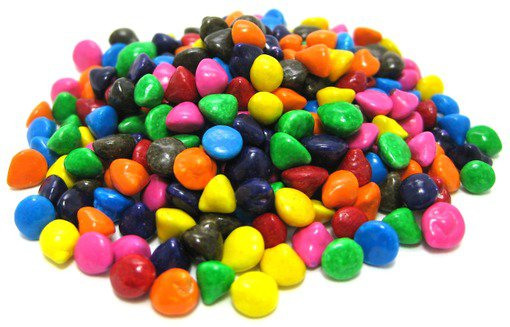 Rainbow Candy-Coated Chocolate Chips - Chips - Chocolates & Sweets - Nuts.com